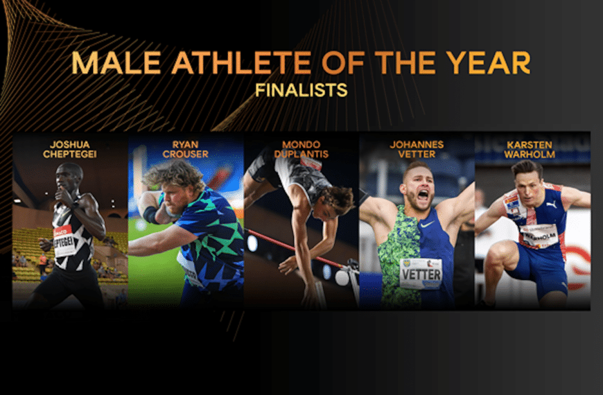 Finalists Announced For Male World Athlete Of The Year 2020