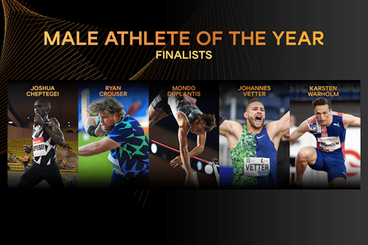 Who was the Male Athlete Of The Year 2020