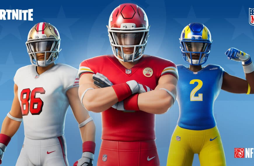 NFL And Epic Games Expand Partnership With New Content Throughout The NFL Season