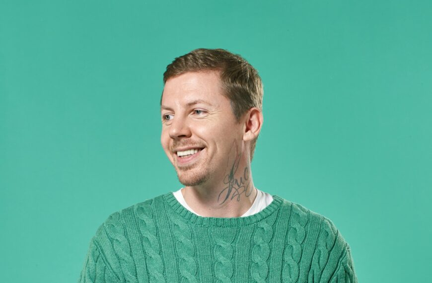 Professor Green: Solving My Gut Problems Did Wonders For My Mental Health