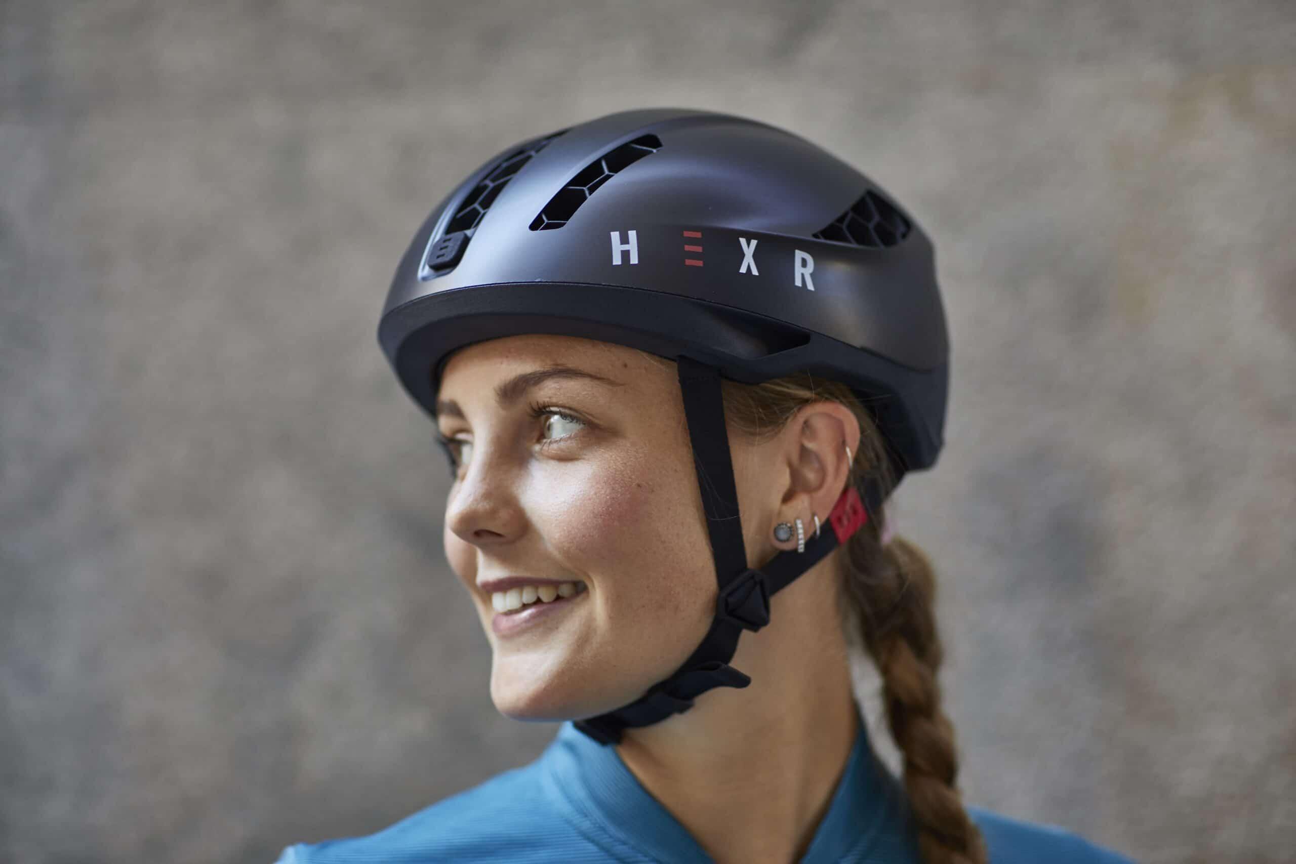 HEXR Smartphone Cycling Helmet Fitting App