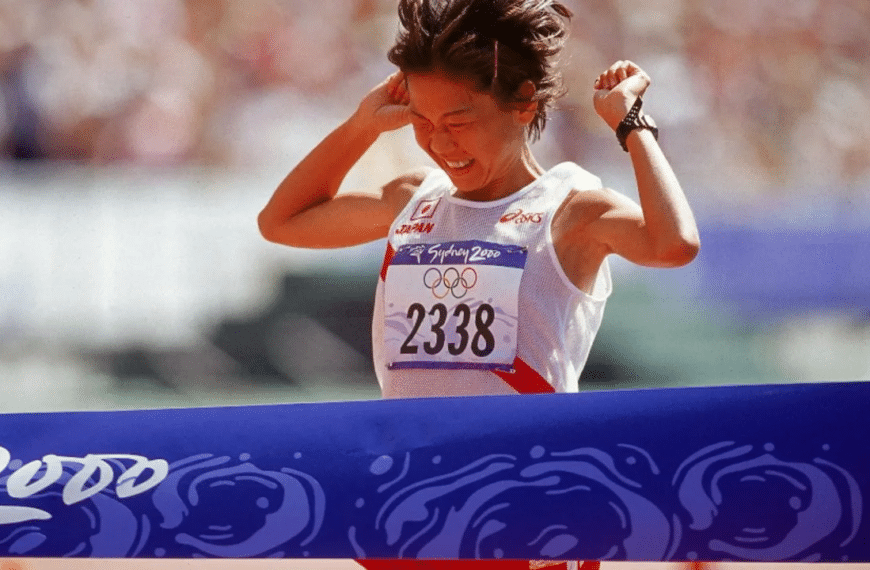 Naoko Takahashi, 2000 Olympic Marathon Champion, Donates Winning Bib To Heritage Collection