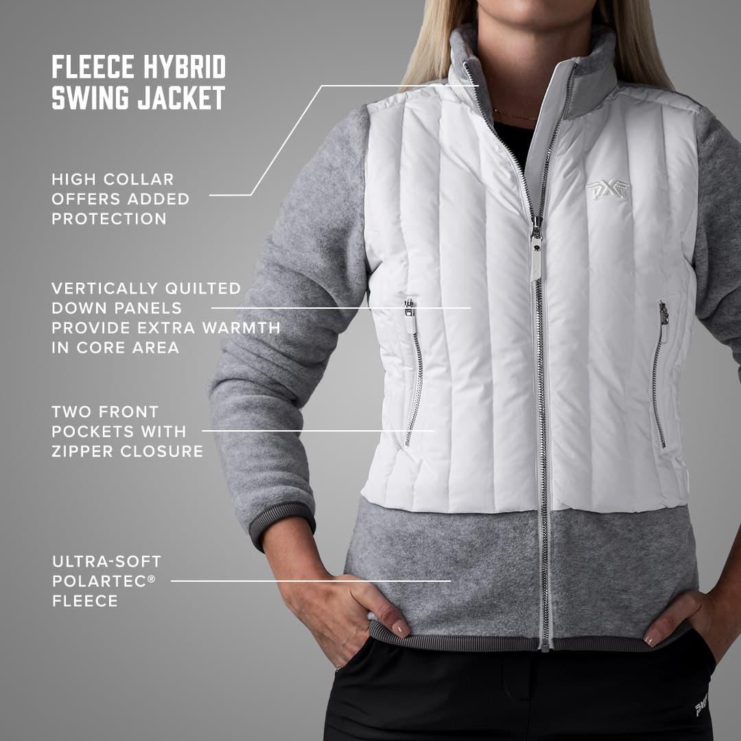 PXGW 108 Womens Fleece Hybrid Swing Jacket