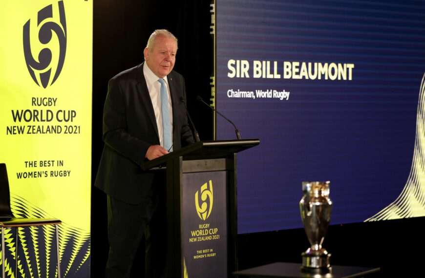 World Rugby Chairman Sir Bill Beaumont Open Letter Regarding Player Safety