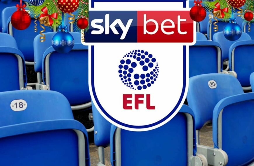 Be Part Of The EFL Action This Festive Period