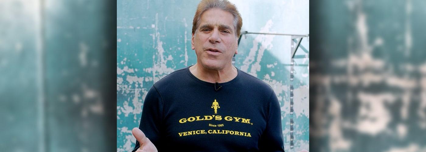 Gold's Gym Partner Lou Ferrigno