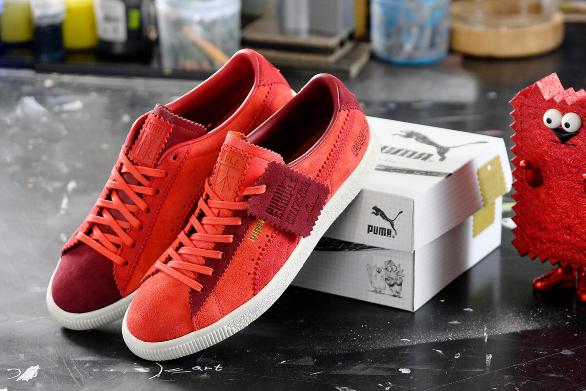 """Michael Lau Transforms The Creative Process Into An Exquisite """"Sample"""" Suede"""