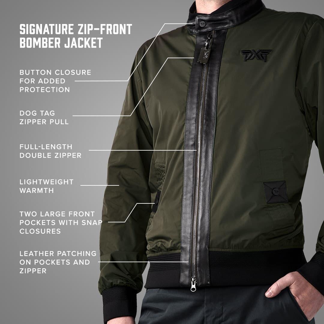pxg mens bomber jacket