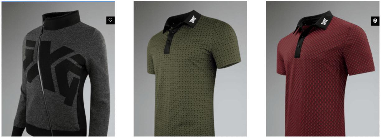 pxg shirts