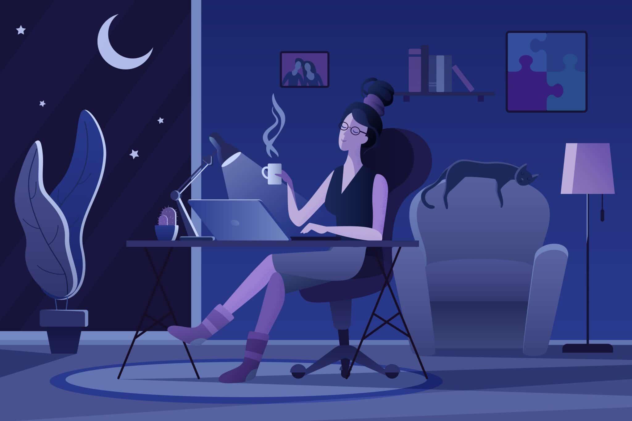 Homeworking Ruining Your Sleep Schedule