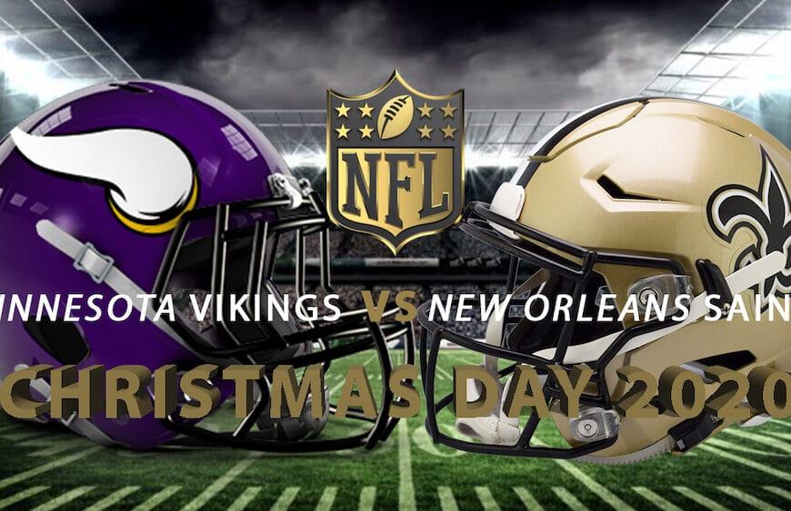 Special Christmas Day Edition of NFL on FOX, NFL Network and Amazon Prime Video Features Vikings vs. Saints