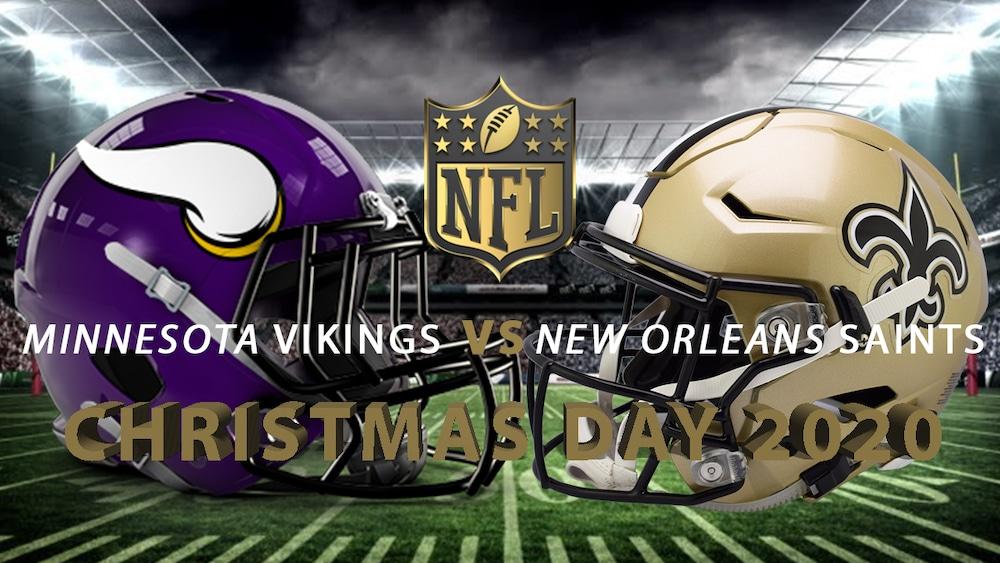 vikings vs saints christmas day 1