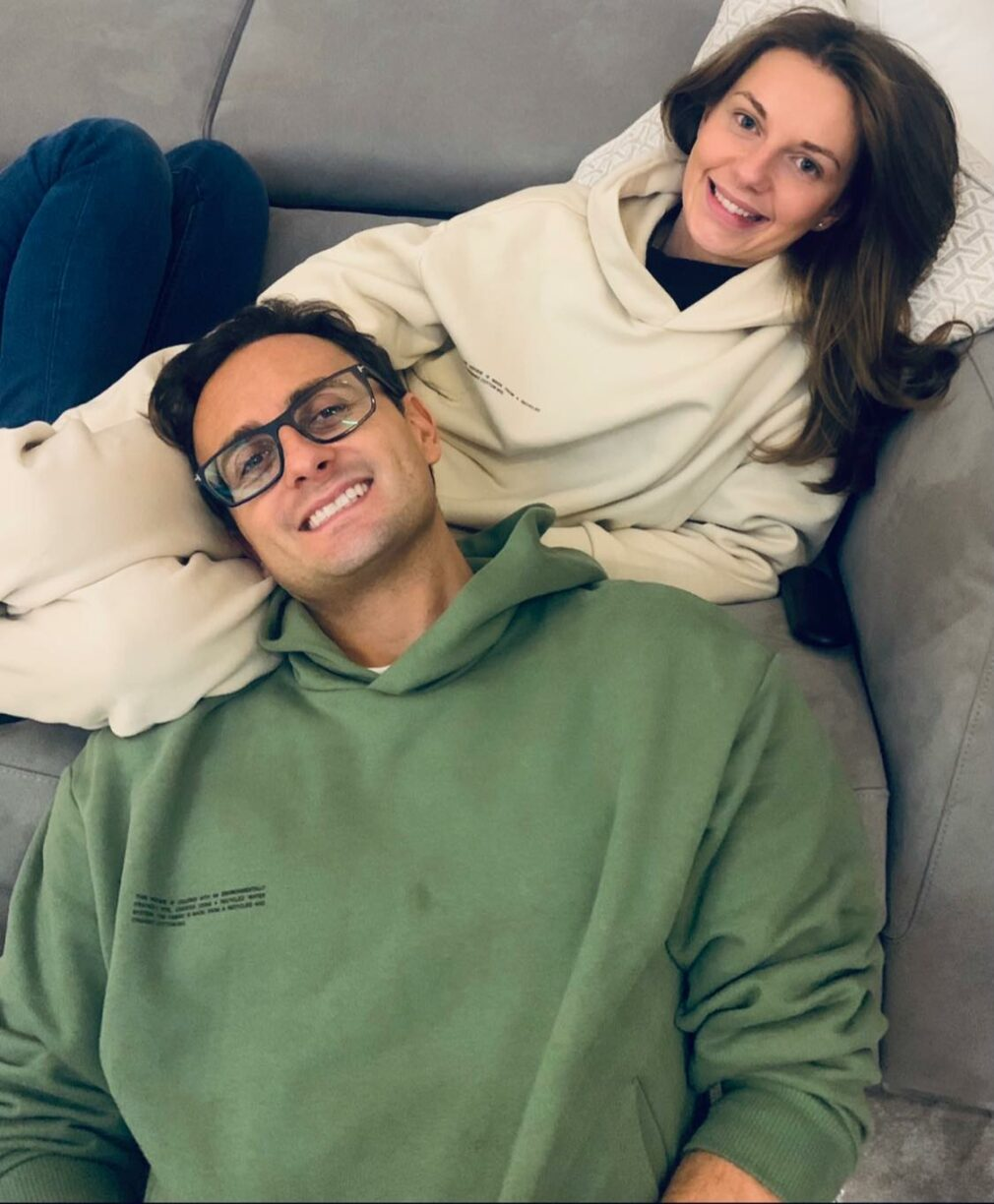 Johny Pach chills with Fiance