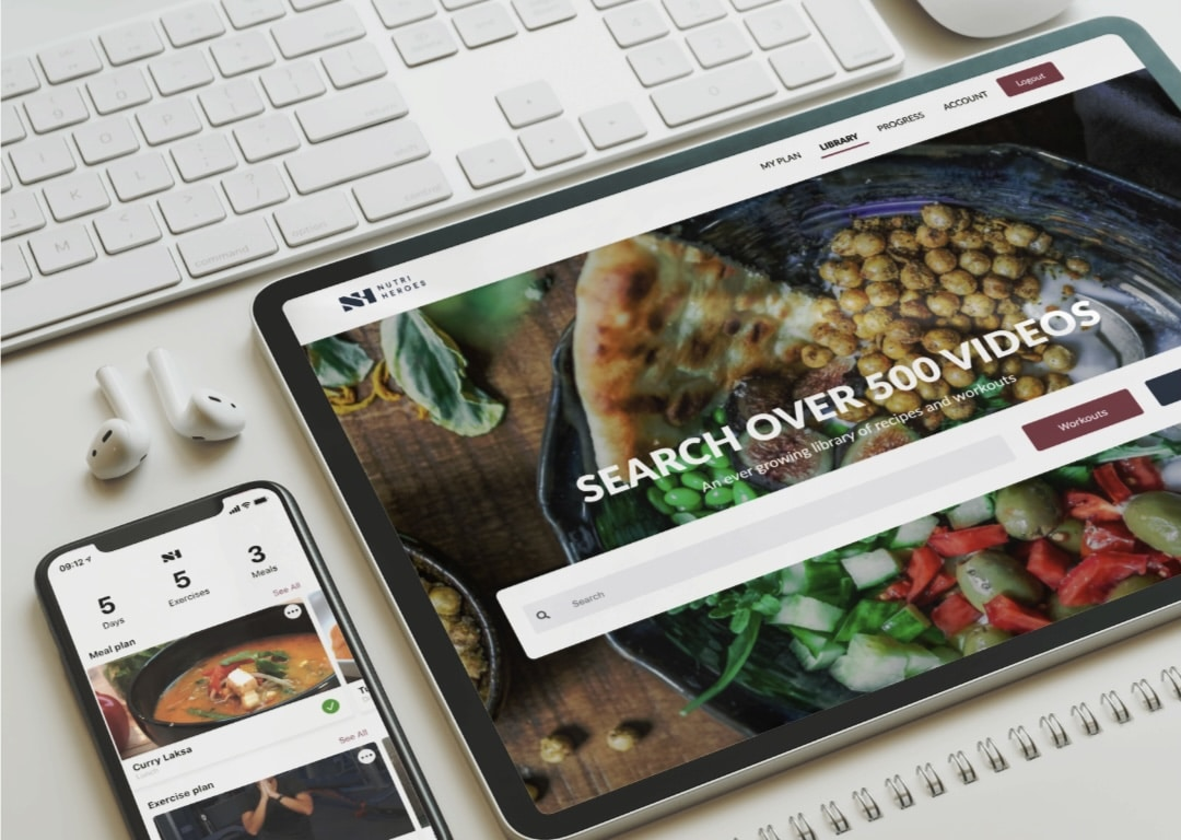 NutriHeroes Screen