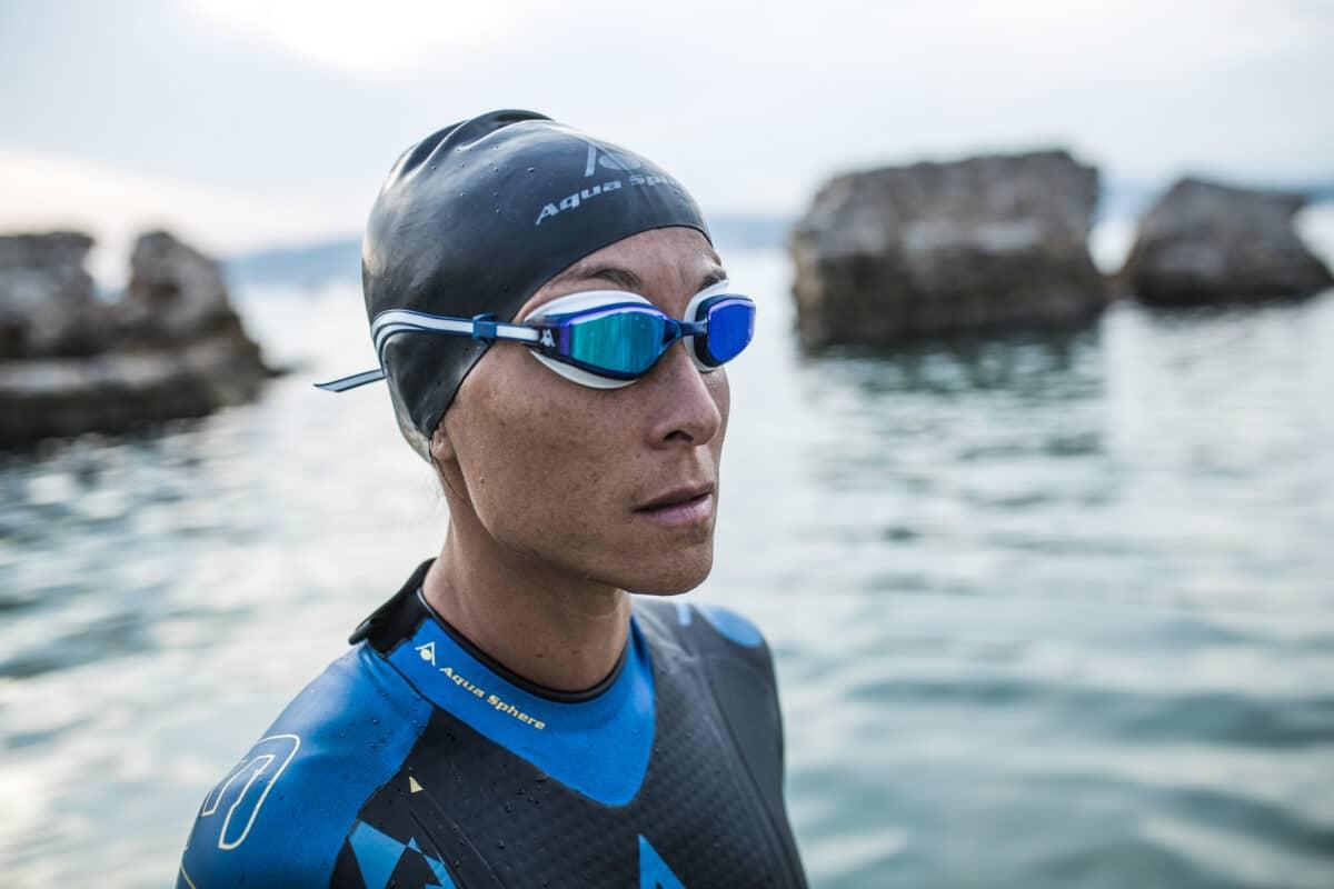 Aqua Sphere Launches FASTLANE Micro Gasket Swimming Goggle