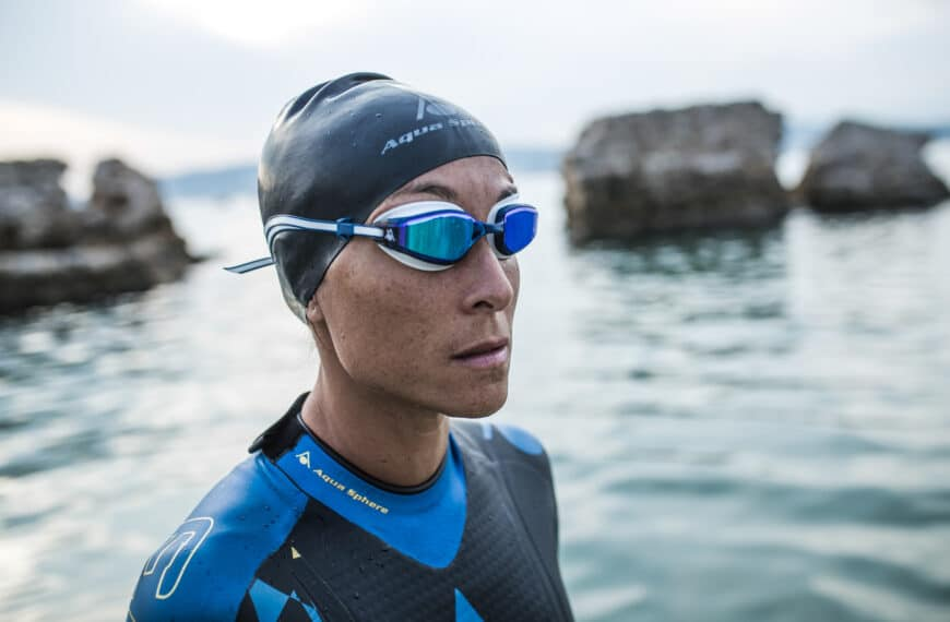 Aqua Sphere Launches FASTLANE Micro Gasket Swimming Goggle