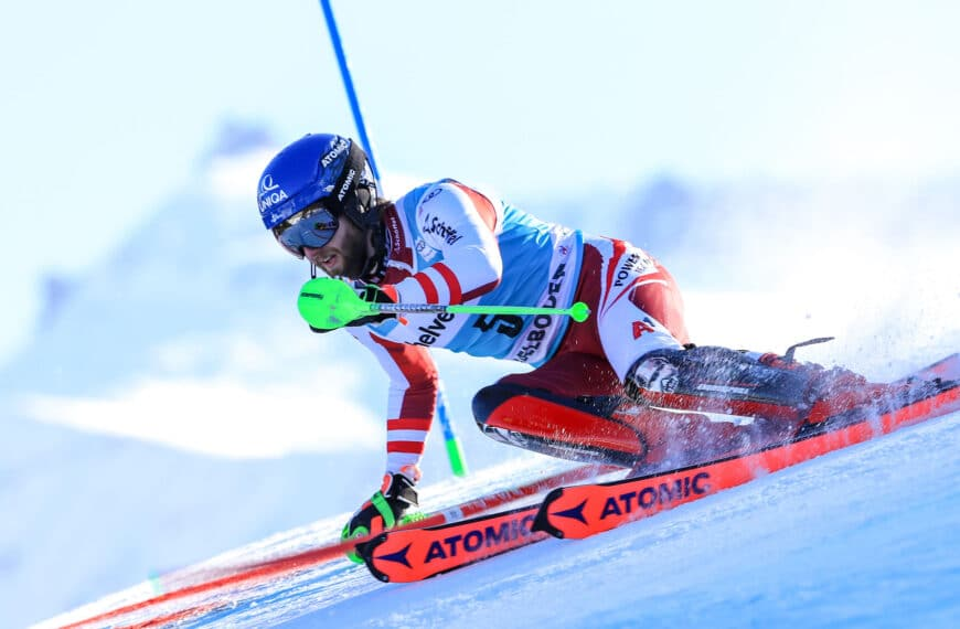 """""""Blacky"""" Takes Career-First  Slalom Victory, Tackling """"Classic Triple"""" In Red Bib"""