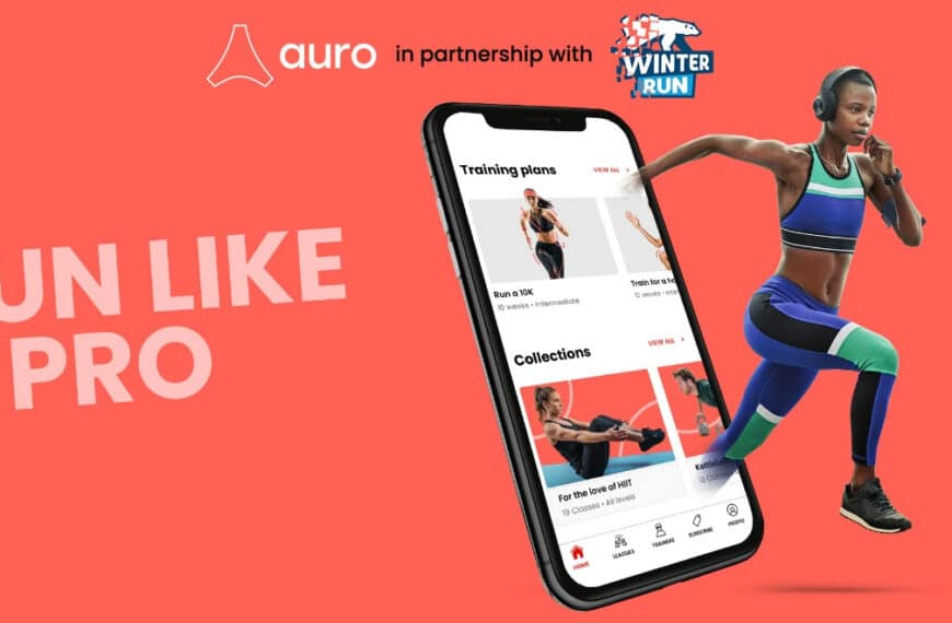 Auro Announce Sponsorship as the Official Training Partner for the Winter Run 2021