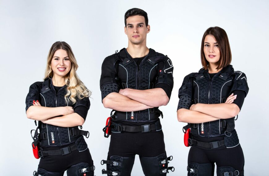 Electric Muscle Stimulation (EMS) Suit Combining Treatment and Training Into One Innovative Workout