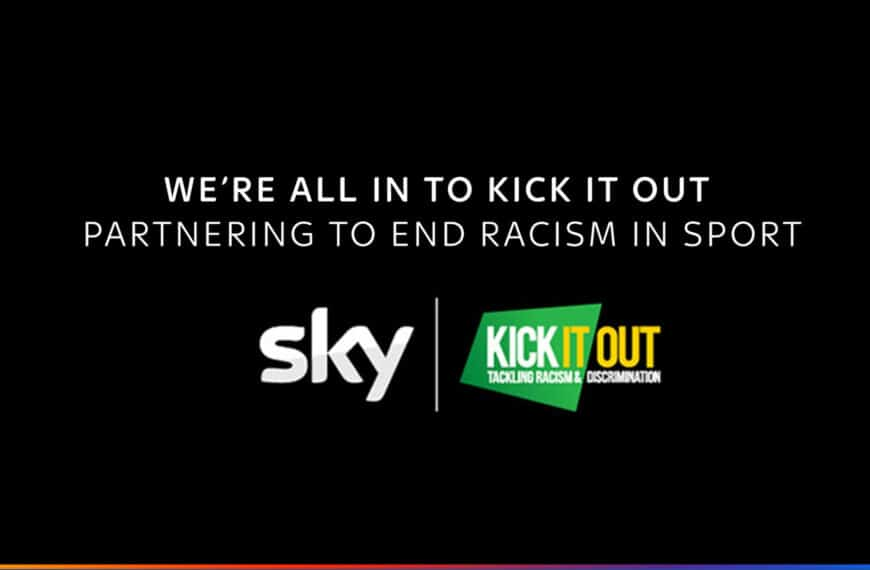 SKY and Kick It Out Form Ground-Breaking Partnership
