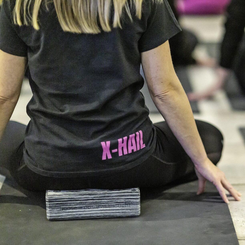 x hail meditation tee