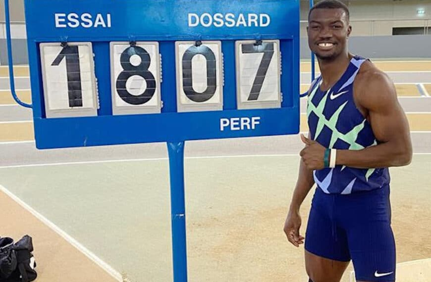 Zango Smashes World Indoor Triple Jump Record With 18.07m