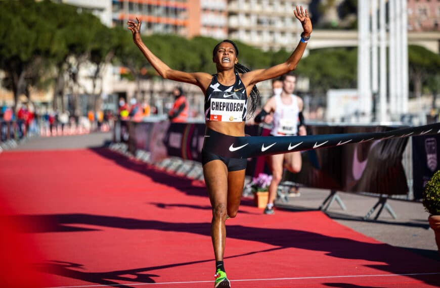 Chepkoech Breaks World 5km Record In Monaco