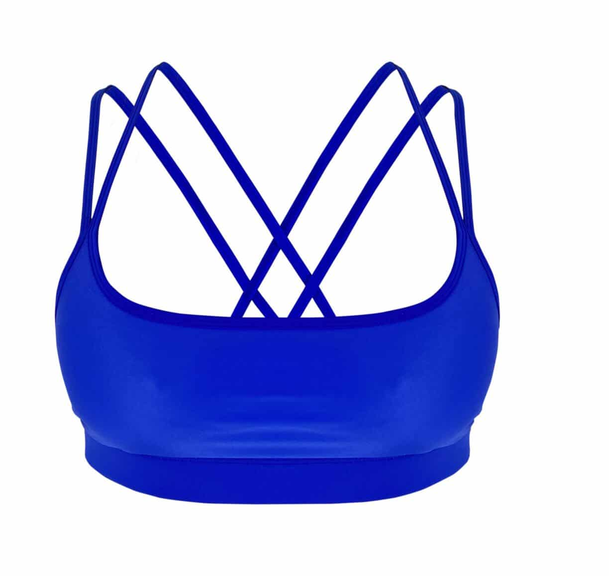 Feel Fit SS21Invigorate TOP BLUE Strappy Frt GBP 39