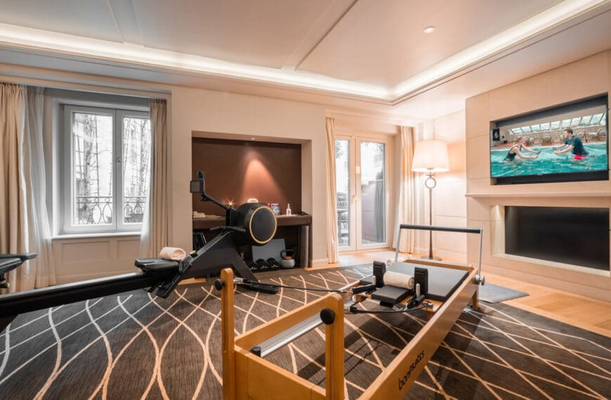 Four Seasons Hotel Des Bergues Geneva Launches Two Exclusive Private Fitness Suites