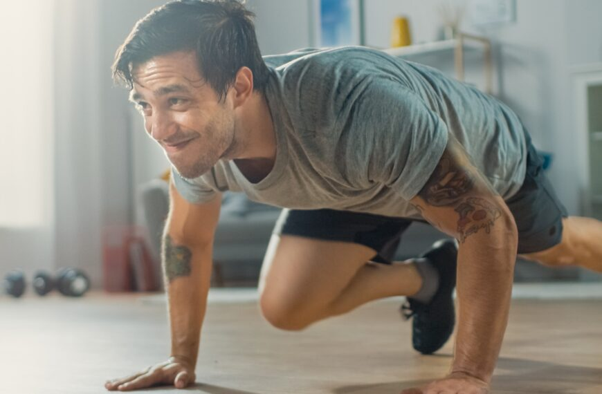 5 Ways To Stay Fit In Lockdown