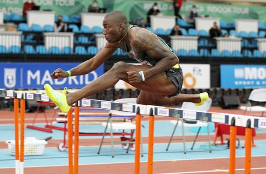 Grant Holloway Breaks World Indoor 60m Hurdles Record In Madrid