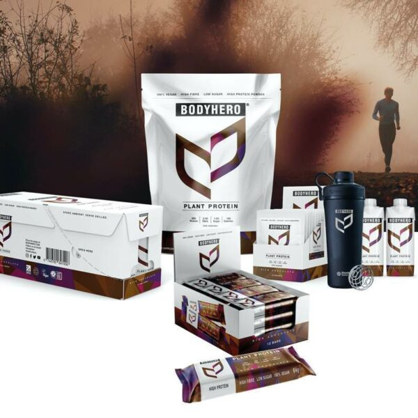 Plant-Based Bodyhero Packed With All The Protein You Could Wish For