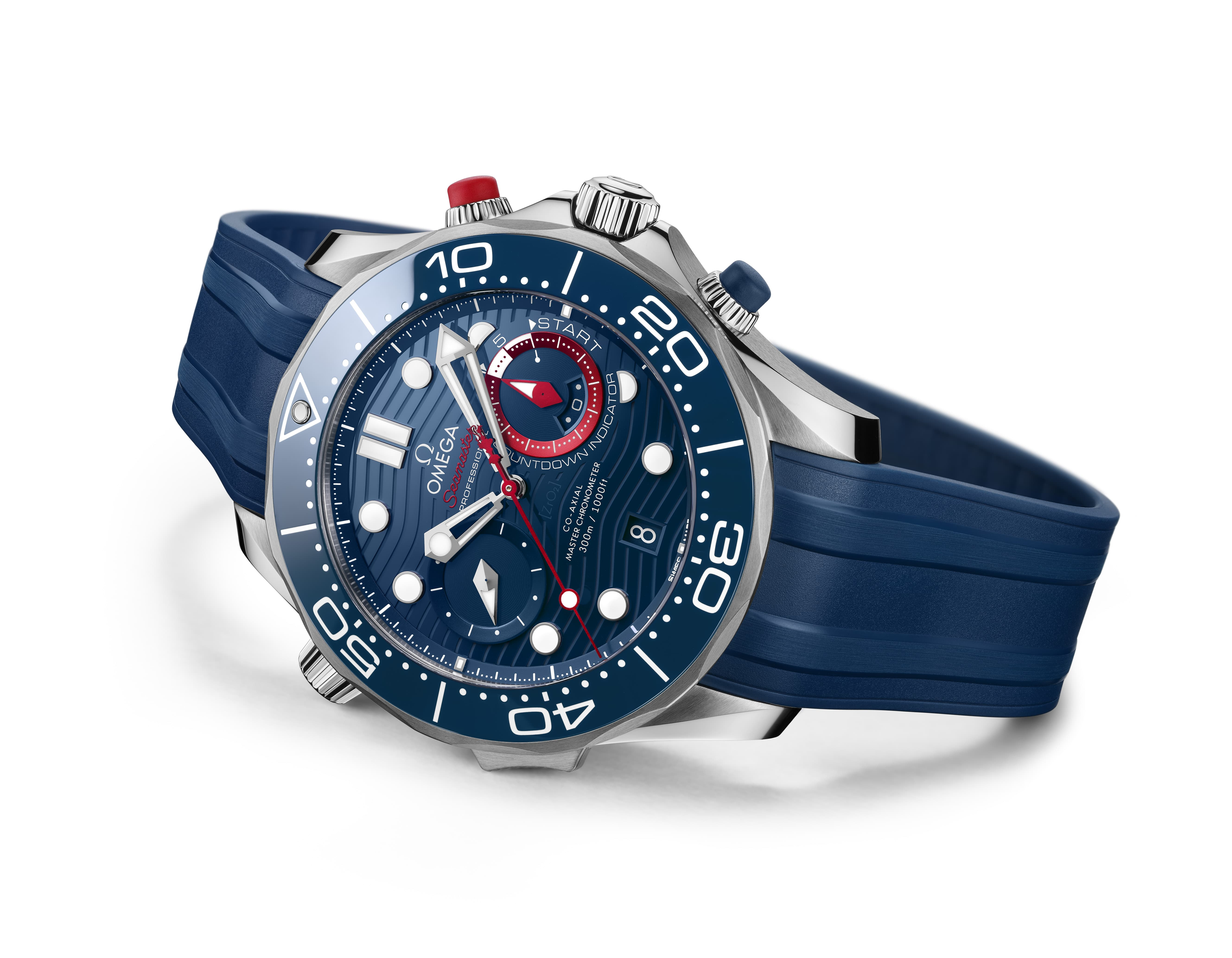 Omega Launches A Race-Ready Timepiece
