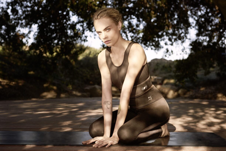 puma cara delevingne eco yoga wear 5