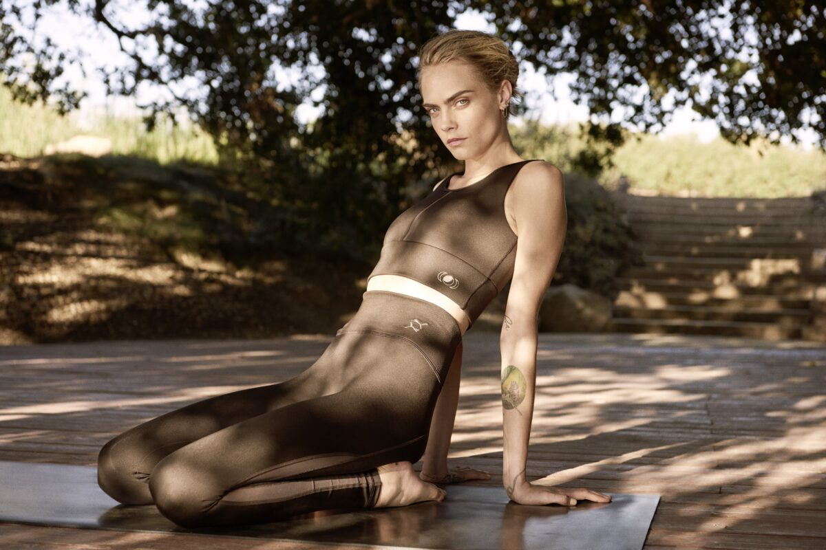 Puma and Cara Delevingne Co-Create New Eco-Conscious Yoga Collection