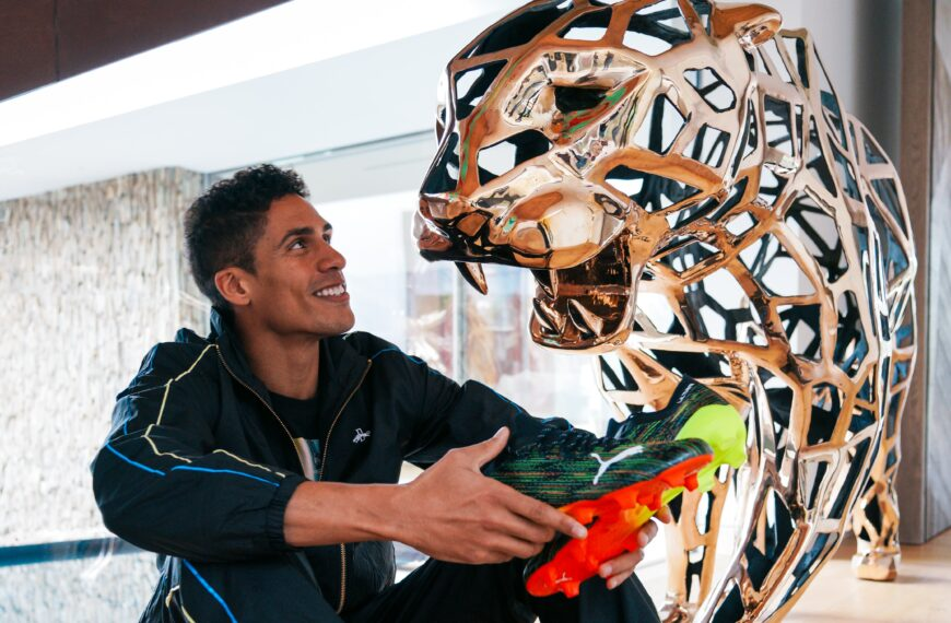 Puma Signs World Cup Winner Raphaël Varane