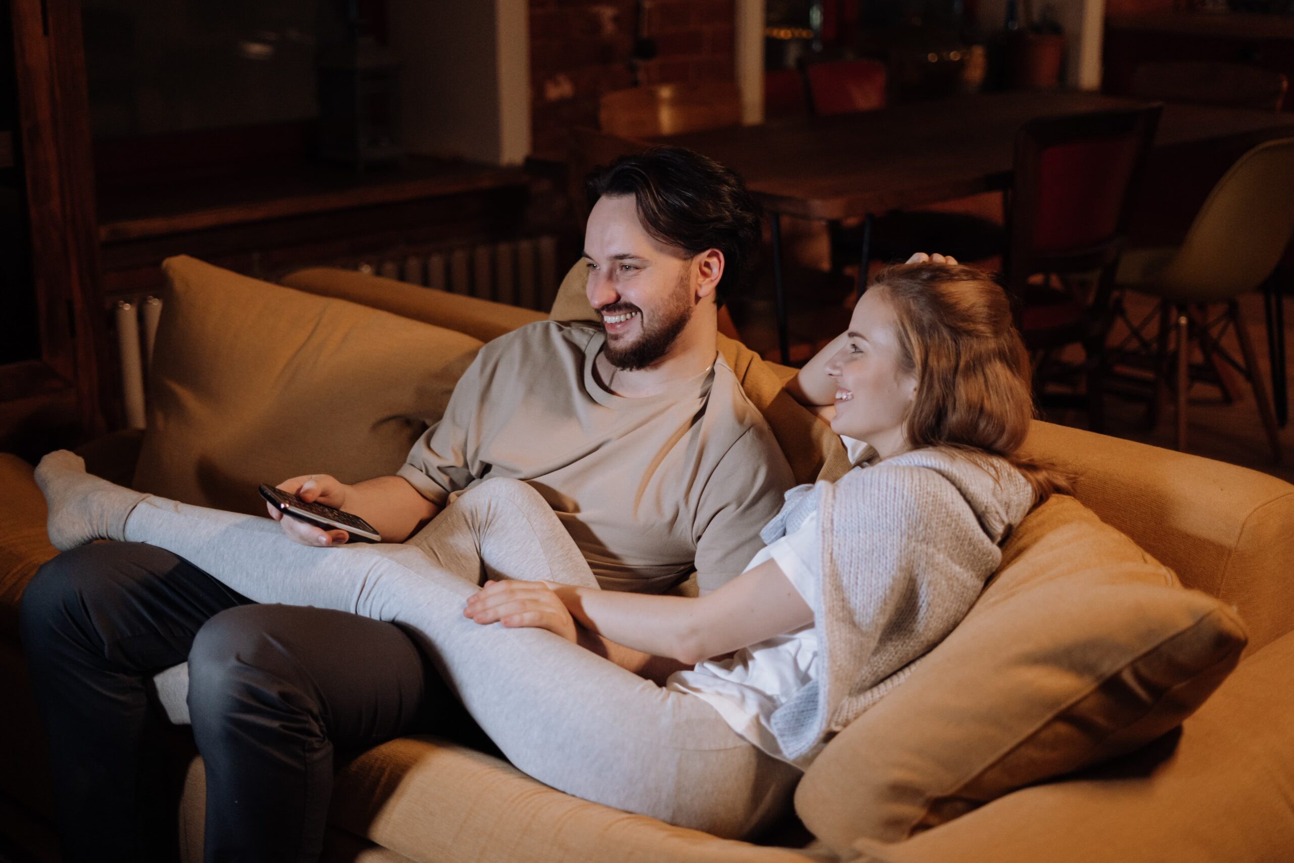 What Your Sofa Position Could Say About Your Relationship
