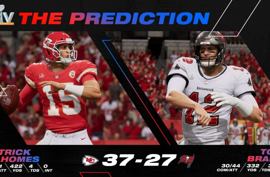 EA SPORTS Madden NFL Predicts Kansas City to Be Back-to-Back Champions With Super Bowl LV Win
