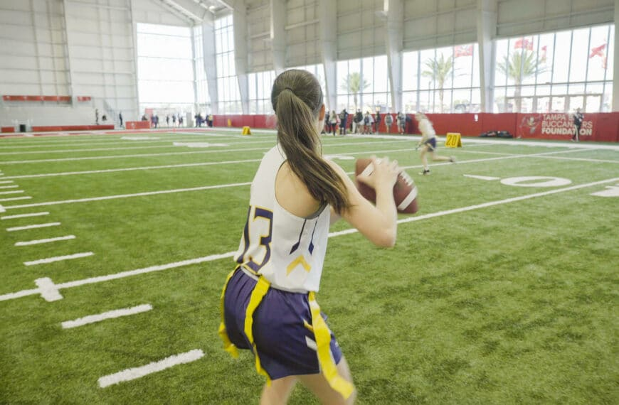 Nike and NFL Partner to Grow Girls Flag Football in the US