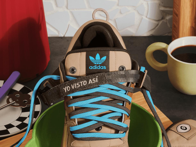 Bad Bunny and adidas 5