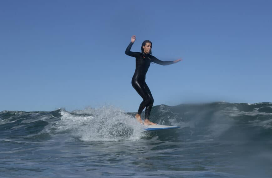 The Female Team Promoting Surfing