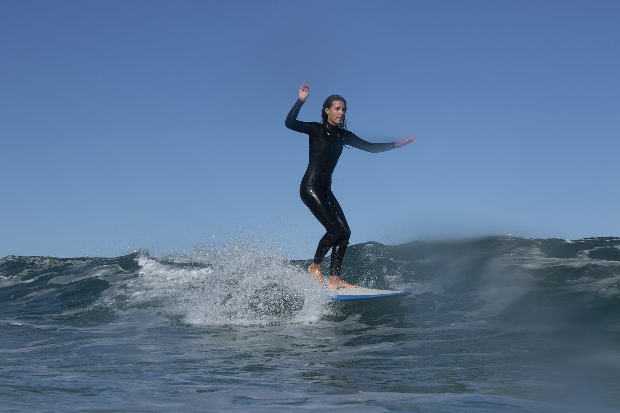 Female Team Promoting Surfing 2