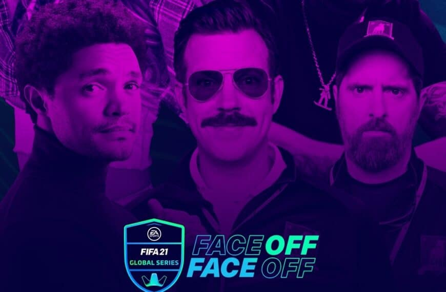 Celebrities Compete in EA SPORTS FIFA 2021 Global Series Face-off