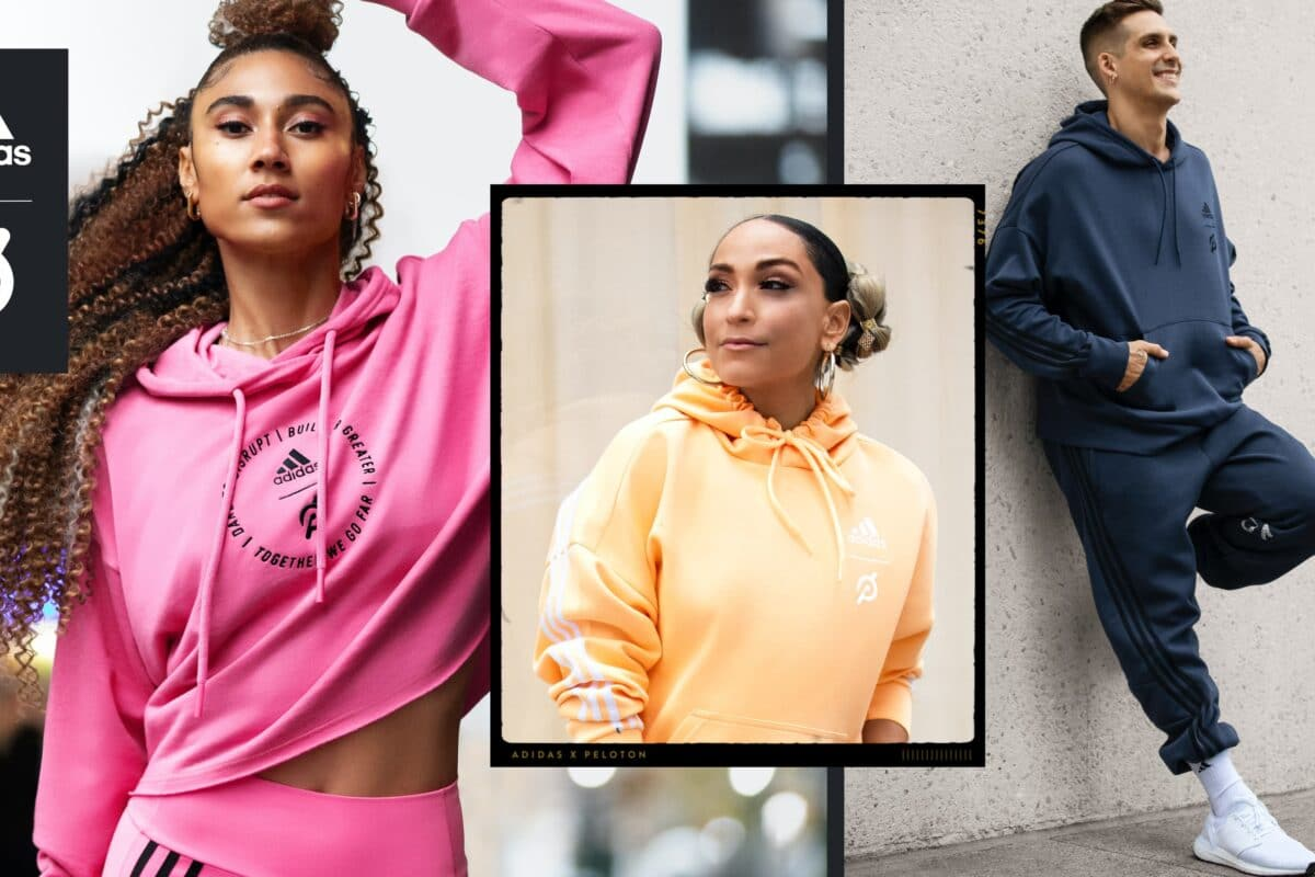 Adidas Announce International Partnership And Apparel Collection With Peloton