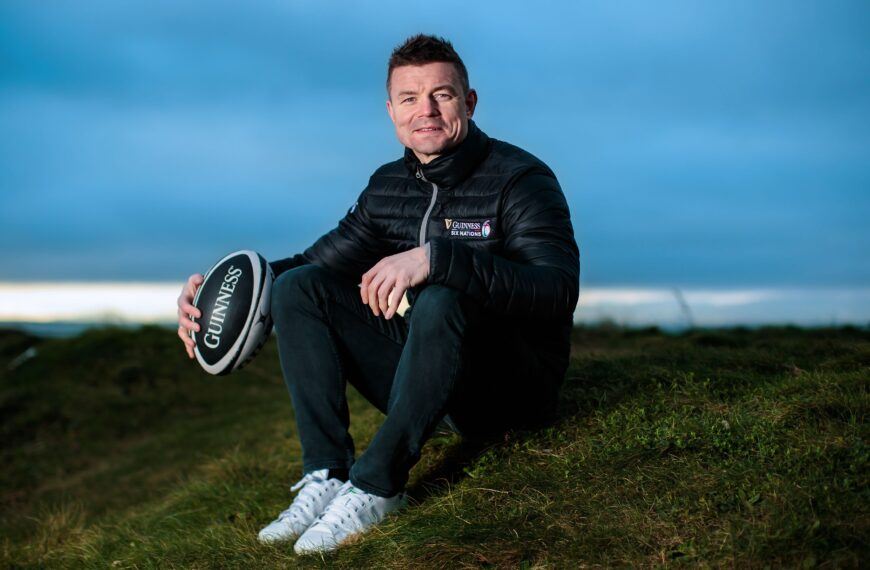 Brian O'Driscoll Supports EXI, The NHS-Approved Exercise Prescription App