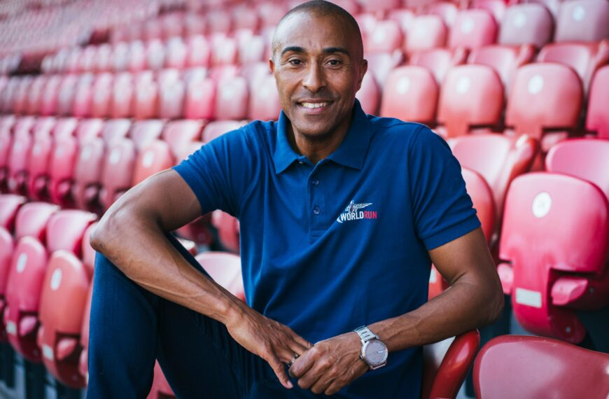 Colin Jackson: Never Feel Guilty About Looking After Yourself