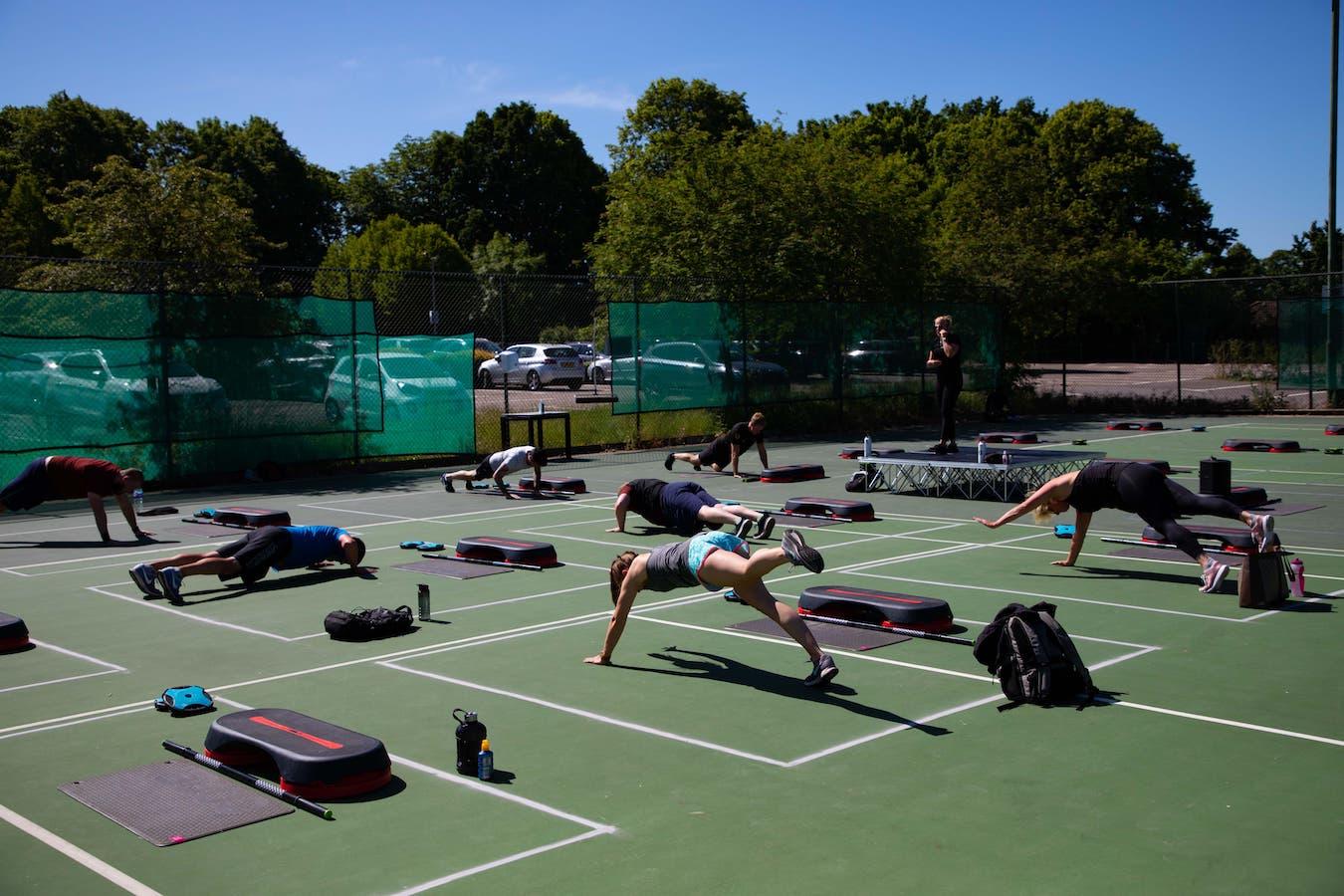 david lloyd clubs outdoor fitness 1 1