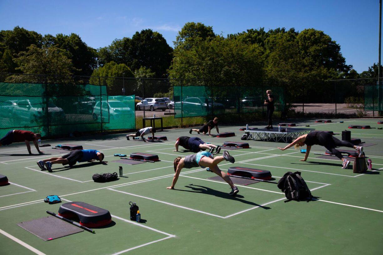 david lloyd clubs outdoor fitness 1