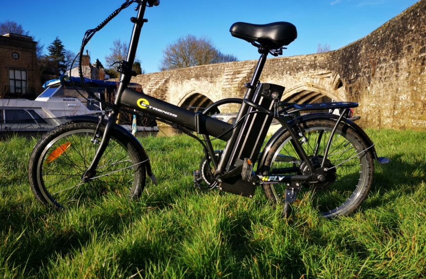 The E-Trends Fly Foldable and Portable City Bike Reviewed