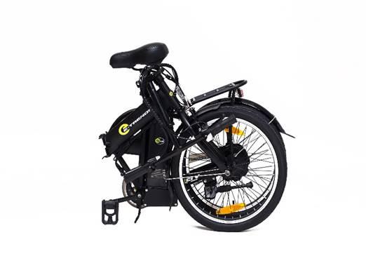e trends fly foldable bike